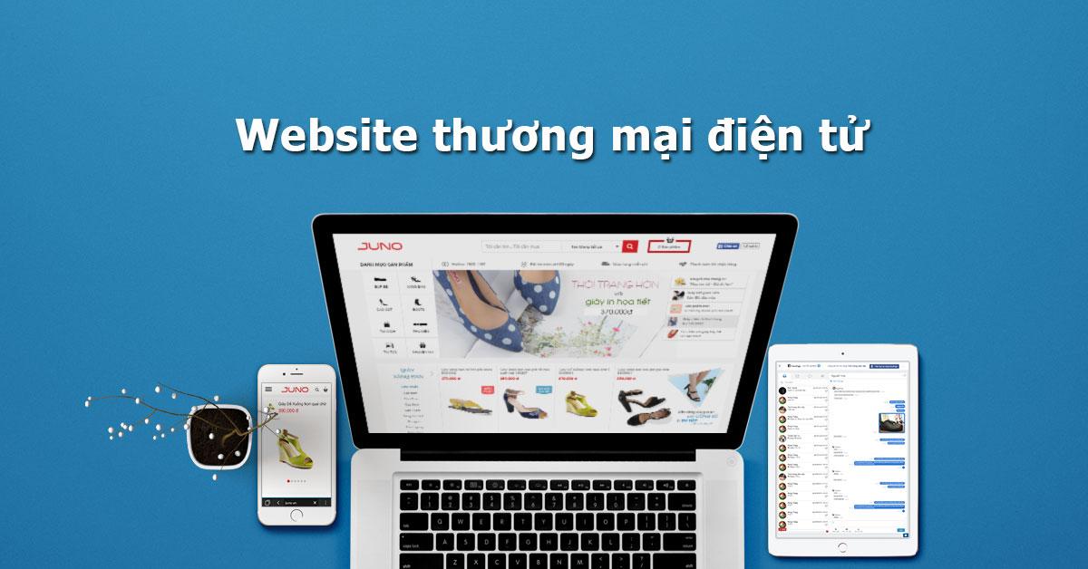 Website hệ thống thương mại điện tử